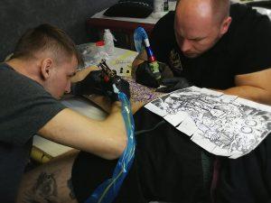 Ponton Tattoo School - tatuaż plecy