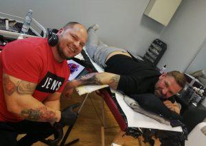 tatuaż rękaw - Ponton Szkoła Tatuażu